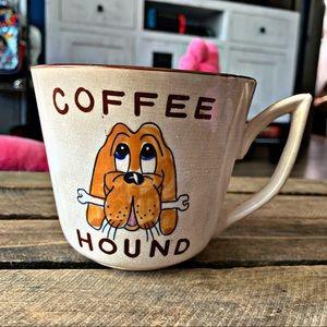 Vintage Coffee Hound Oversized Coffee Mug